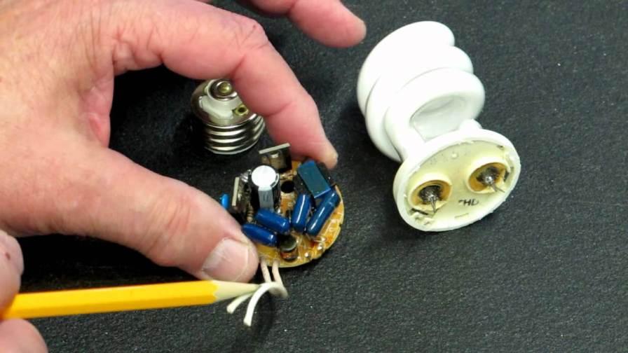 بسته آموزشی کسب درآمد با تعمیر لامپ کم مصرف